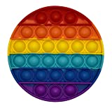 Juguete antiestres Silicona Push Pop it Redondo Fidget Toys Juguete sensorial Relajante Burbujas Bolas. fidgets Toys...