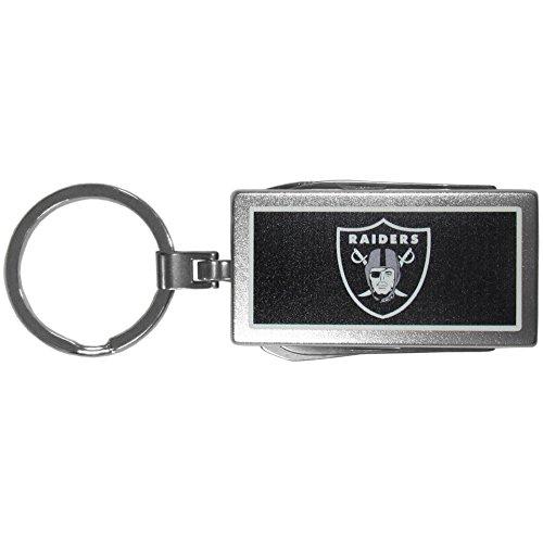 Siskiyou Sports NFL Oakland Raiders Multi-Tool Key Chain