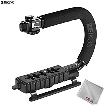 Vertical Shoe Mount Stabilizer Handle Kodak EasyShare Z990 Pro Video Stabilizing Handle Grip for EasyShare Max