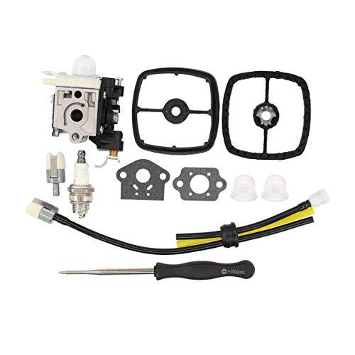 MOTOKU Carburetor Air Filter Carb Tool Spark Plug for Echo PB-251 PB-255 PB-255LN ES-255 Leaf Blower