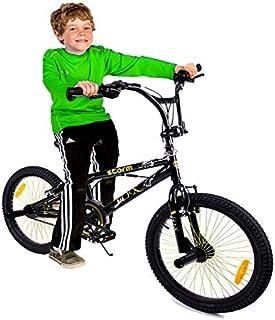 Megastar - Mega Wheels Krazy Stunt Kids Bike, Black, 20 inches, 0-CRB