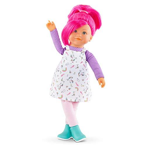Corolle 9000300020 Rainbow Nephelie/Französische Puppe mit Charme und Vanilleduft/Schlenkerbeine / 40cm