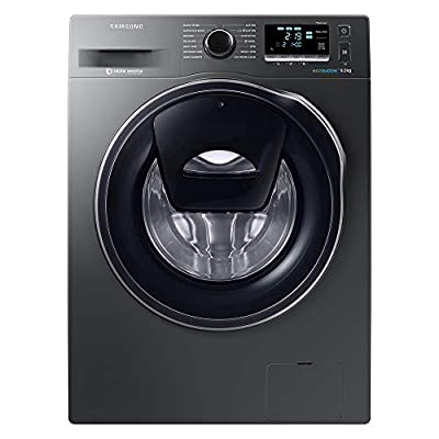Samsung WW90K6414QX Freestanding Smart Washing Machine with Addwash, 9 kg Load, 1400 rpm Spin, Graphite