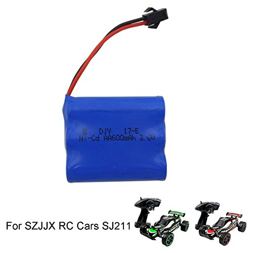 SZJJX RC Car Rechargeable Battery 3.7V 500mAh High Capacity Battery Pack SZJJX RC Cars Rock Off-Road 2.4Ghz 2WD 1:20 Radio Remote Control Racing Cars Hobby Car SJ211