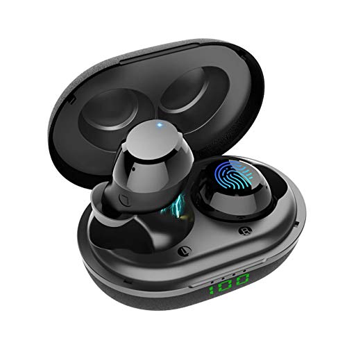 Holiper Q12 Wireless Earbuds Bluetooth Earphones with Microphone, Noise...