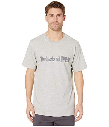 Timberland PRO Herren Base Plate Short Sleeve with Chest Logo T-Shirt, Hellgrau (Light Grey Heather), Groß