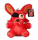 QWEI Juegos De Anime Five Nights At Freddy'S 4 Cute Red Foxy Juguetes De Peluche 25Cm Peluches De Peluche Juguetes Mujeres Niños Regalo De Cumpleaños