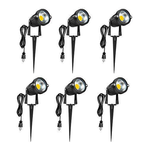 LED Landscape Lights 120V - 3000K Warm White 5W Spot Light...
