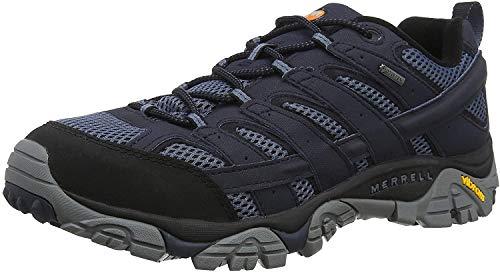 Merrell Moab 2 GTX, Zapatillas de Senderismo para Hombre, Azul (Navy), 43.5 EU
