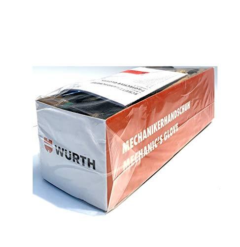 Würth pares de 6-Guantes de mecánico y trabajo, EN388 EN420, talla 7, 8, 9, 10 y 11