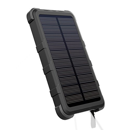 OUTXE IP67 10000mAh Powerbank Solare Impermeabile Caricabatterie...