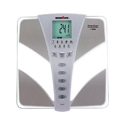 BC554 Tanita Ironman Glass InnerScan Body Composition Elite Series Monitor