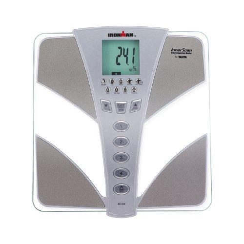Tanita BC554 Ironman Glass InnerScan Body Composition Monitor Elite...