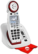 Clarity XLC3.4+ Severe Hearing Loss Ampified Cordless Phone with Circuit City Microfiber Cleaning Cloth