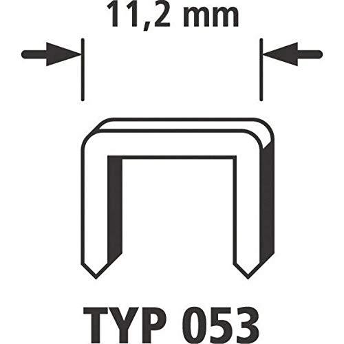 Wolfcraft 7047100 Breitrückenklammern Typ 053, extra harter Stahl 14