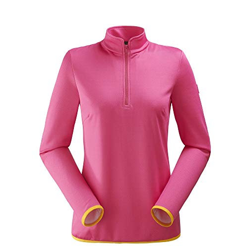 Eider Fakie 1/2 Zip W Sweat Femme, Rose Bonbon, FR (Taille Fabricant : XL)