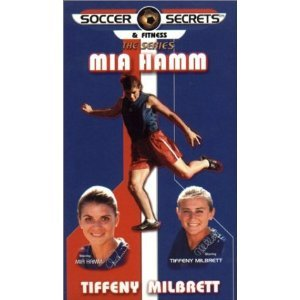 Mia Hamm Soccer DVD & 15 Patches for Beginning to Intermediate Girls Soccer Players