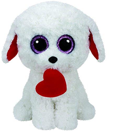Carletto Ty 37090 Ty 37090-Honey Bun, Hund mit Herz, 24 cm