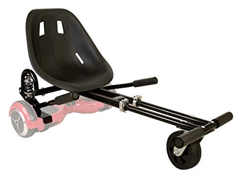 Zerimar Airel Hoverkart | Kart per Hoverboard | Adatto per Hoverboard | Hoverboard Kart | 6,5/8 / 10'' | Misure: 52x42x21 cm