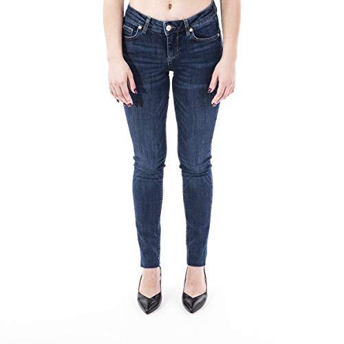Liu Jo IDEAL UA0001 D4127 Jeans Damen Denim Dark Blue 28