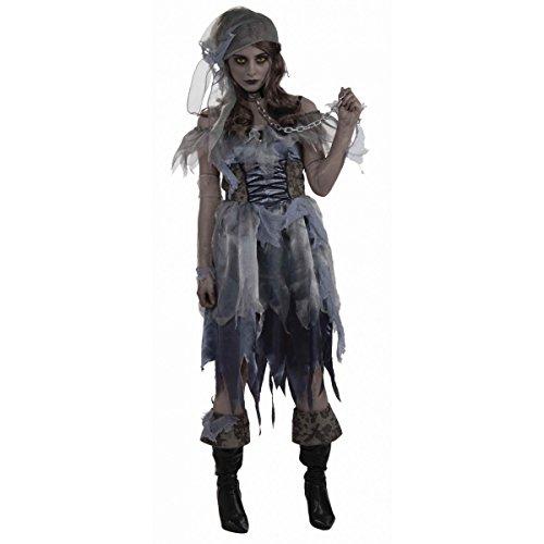 Zombie Pirate Lady (disfraz)