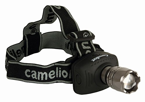 Camelion 30200023 - Linterna con LED frontal, 3 W