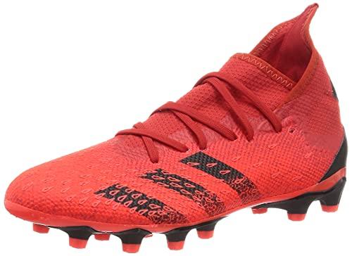 adidas Predator Freak .3 MG, Zapatillas Deportivas Hombre, Rojo/NEGBÁS/Rojsol, 42 2/3 EU