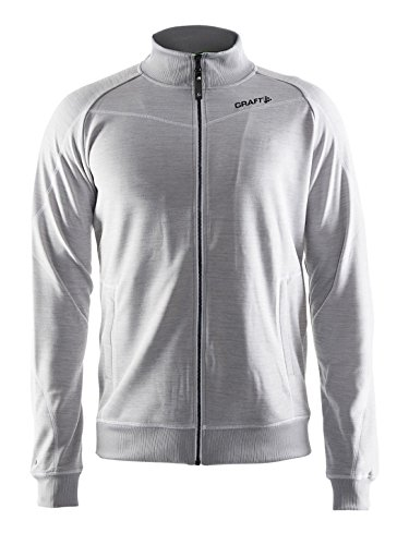 Craft Hombre Sport Sudadera in The Zona Sudadera, Hombre, Gris, Extra-Large