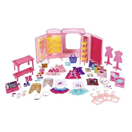 Baby Born 824757 - Accesorios para muñecas Boutique Fashion Shop Doll, rosa (Bandai 824757)
