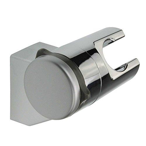 Sanixa TA3360809 Brausehalter ohne Bohren   Neigungswinkel verstellbar   ABS   Stabil & fest   Wand-Halterung Duschkopf   Duschhalterung Handbrause