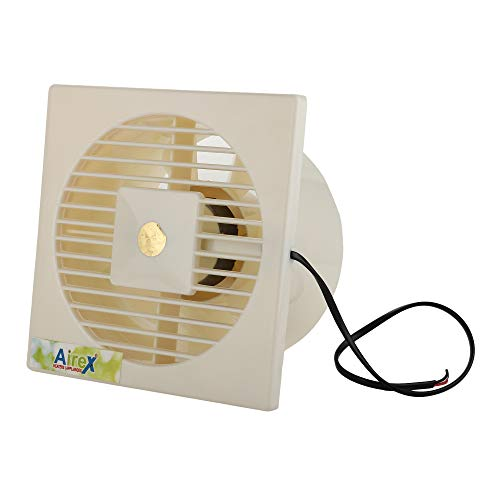 Airex 7 Blade Ventilation Axial Fan (4 Inch, White)