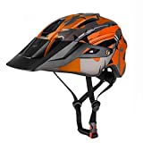 XYBB Casco Bicicleta Casco de Bicicleta para MTB Bike Mountain Road Ciclismo Seguridad Deportes al Aire Libre Casco de Seguridad l M279-naranja