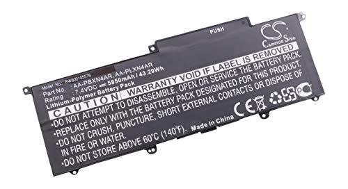 vhbw Batterie 5850mAh Compatible avec Samsung NP900X3E-K01AU, NP900X3E-K01CA, NP900X3E-K01DE, NP900X3E-K01US pc, remplace AA-PBXN4AR AA-PLXN4AR