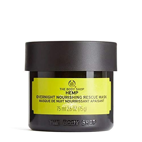 The Body Shop Hemp Overnight Nourishing Rescue Mask - Richly hydrating with...