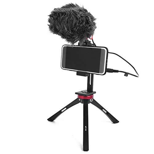 SALALIS Microfono, Microfono di Registrazione modalità di polarità compatta a Forma di Cuore per la Corsa