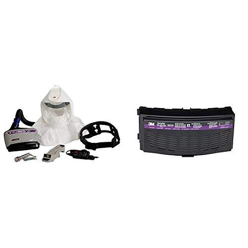 Easy Clean PAPR Kit TR-600-ECK + Organic Vapor/HEPA Cartridge TR-6510N/37361 (AAD), for TR-600/800 PAPR (Pack of 5)
