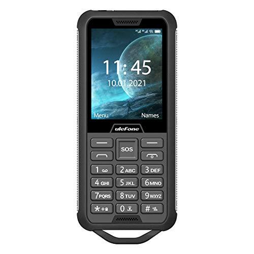 Armor Mini 2 Tough Outdoor Handy (6, 1cm (2, 4 Zoll), Dual-SIM, 2G LTE, Kaios) Schwarz Design