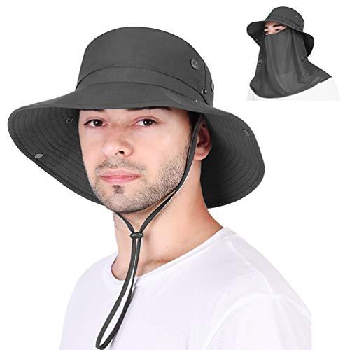 VBIGER Sombrero de Sol Protección UV para el Verano Ala