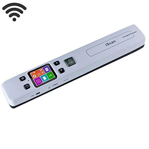 WiFi Escáner portátil A4 Tamaño JPG/PDF Document Scanner 1050 dpi de Mano del lápiz escáner