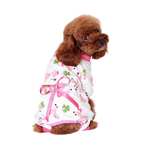 Haustier Kleidung Hundepullover Hunde Kleider welpen Pullover Hunde Warmer Mantel Hundeshirt Hunde Schlafanzug Hundepyjama Haustierbekleidung Hund Jumpsuit für Katzen Kleine Hunde