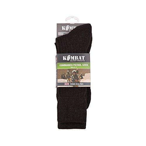 Military Black Patrol Socks by Kombat UK
