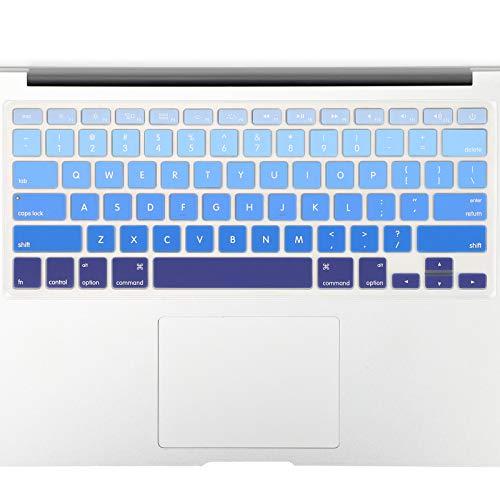 Allinside Blue Ombre Keyboard Cover Skin for MacBook Pro 13' 15' 17' (2015 or Older Version),...