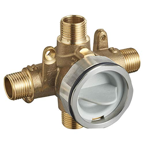 American Standard RU101SS Flash Shower Rough-In Valve with Universal Inlets and Outlets with Screwdriver Stops, Unfinished