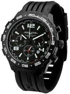 Jorg Gray (ヨーグ・グレイ) JG1600 クオーツ クロノグラフ Rubber ストラップウォッチ メンズ 男性用 腕時計 ウォッチ(並行輸入)