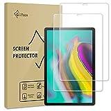 GiiYoon-2 Piezas Protector Pantalla para Samsung Galaxy Tab S5e/S6 10.5 2019(SM-T720/T725/T860/T865) Cristal Templado,[Sin Burbujas] [Alta Definicion] [9H Dureza] Vidrio Templado