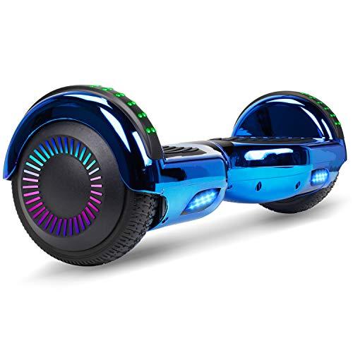 """VEVEpower Hoverboard con Ruedas de 6.5"""" Scooter eléctrico Self-Balancing Self Blance Scooter Monopatín eléctrico Smart Self Balance Board, UL2272 Certificado el monopatín eléctrico 2 * 300W"""