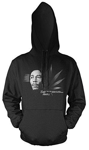 Preisvergleich Produktbild Uglyshirt89 Bob Marley Männer und Herren Kapuzenpullover / Musik Jamaica Reggae / / / (S)