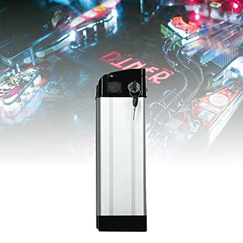 YHWL Batería de E-Bike, Bateria de Bicicleta, 48V Batería de Litio con Placa de Protección BMS con Cargador, Adecuado para Motor 200W 250W 350W 500W,B,25AH