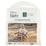 Eco by Naty Premium Pannolini monouso per pelli sensibili, taglia 5, 11-25 kg, 1 confezione da 22 pezzi