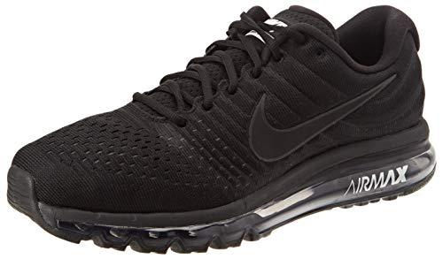 Nike Men's Air Max 2017 Running Shoe Black/Black-Black 11.5